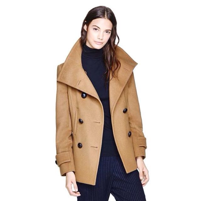 Aritzia: Cashmere Wool Coat (Retail: $336.74)