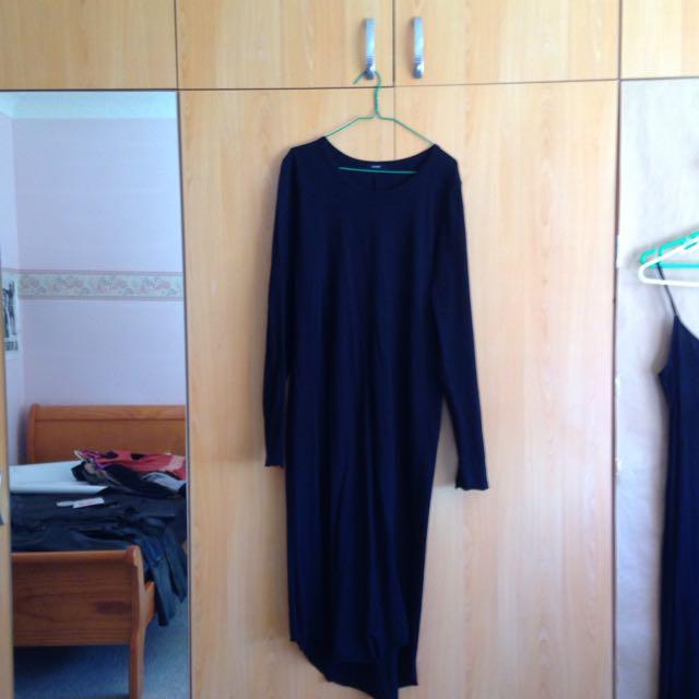 Bassike Extra Long Dress