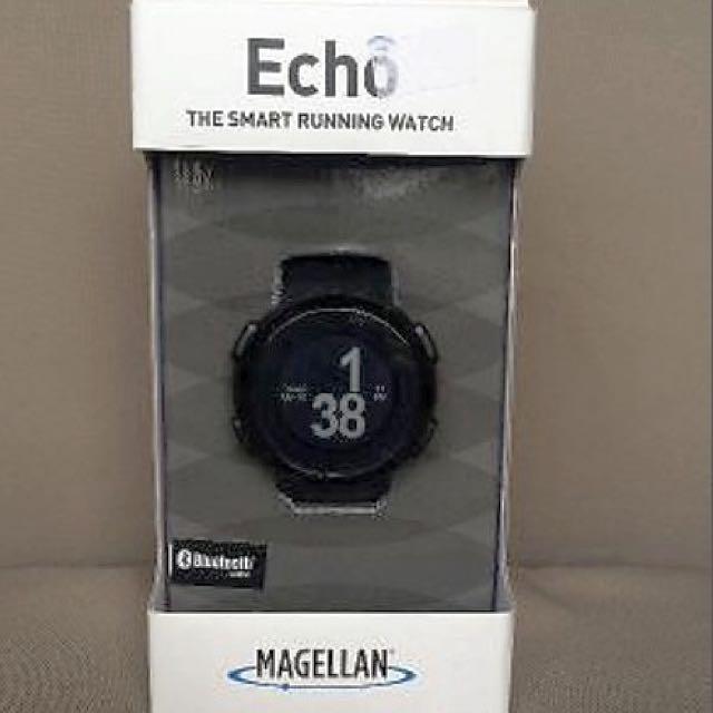 Black Magellan Echo Smart Watch