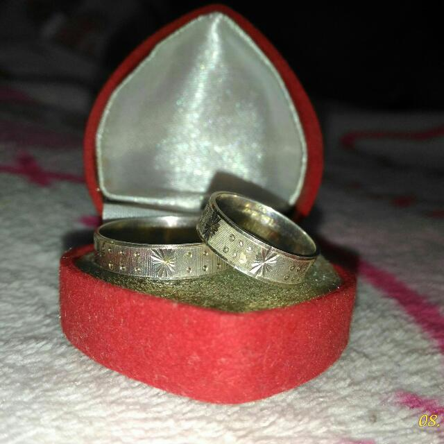 Brandnew Unisilver Couple/Engagement Ring
