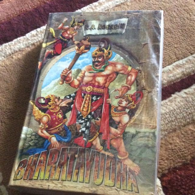 Buku Bharatayuda karya RA Kosasih