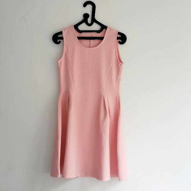 Casual Pink Dress