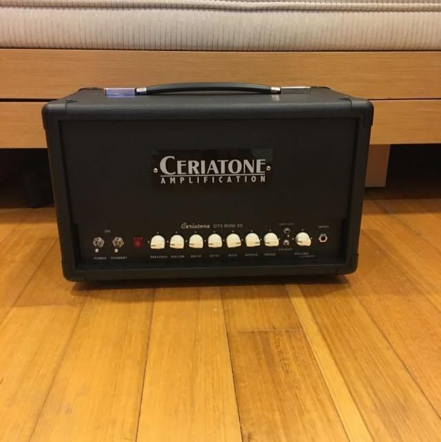 Ceriatone OTS Mini 20 Guitar Amplifier