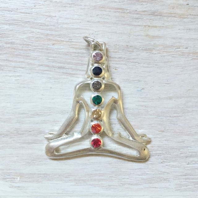 Chakra Yoga Meditation Spirituality Pendant