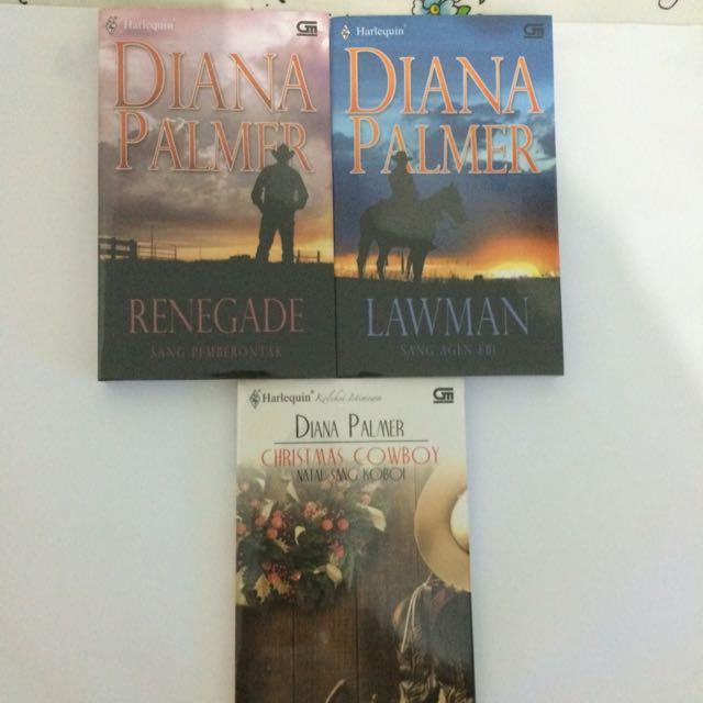 Cowboy Series (Christmas Cowboy, Lawman, Renegade) by Diana Palmer