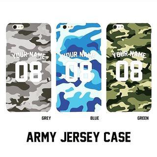 Custom Case HP - Army Jersey