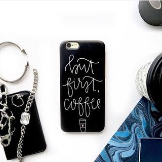 Custom Case HP - But First, Coffee