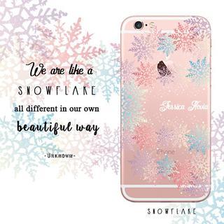 Custom Case HP - Snowflake