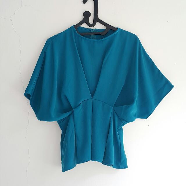 Dark Turquoise Top