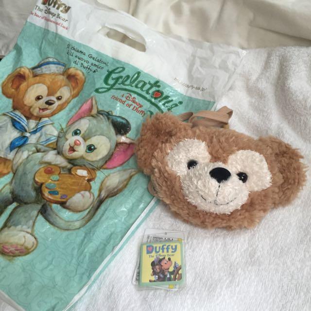 日本Disney購回Duffy票卡夾小包