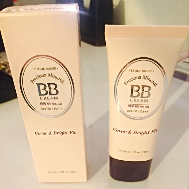 Etude House Bb Cream Cover and Bright Fit