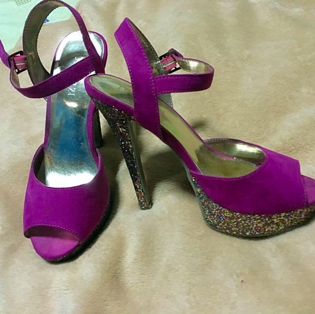 Forever 21 Hot Pink Heels