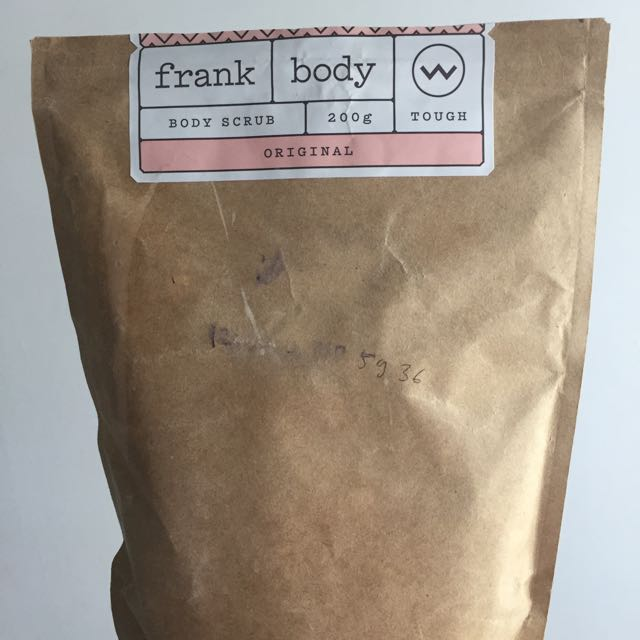 FRANK body scrub (original)