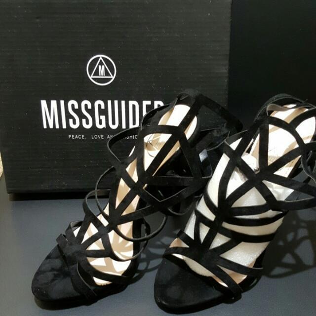 Geometric laser Cut Sandals