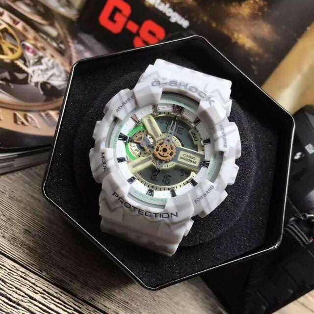 G-SHOCK時代的潮流  讓你的手錶與眾不同,最高端的原單打造,200米深度防水🔥防震 防摔  防磁!世界48个城市時間 倒計時 鬧鐘 間歇響報 錶徑男50mm。