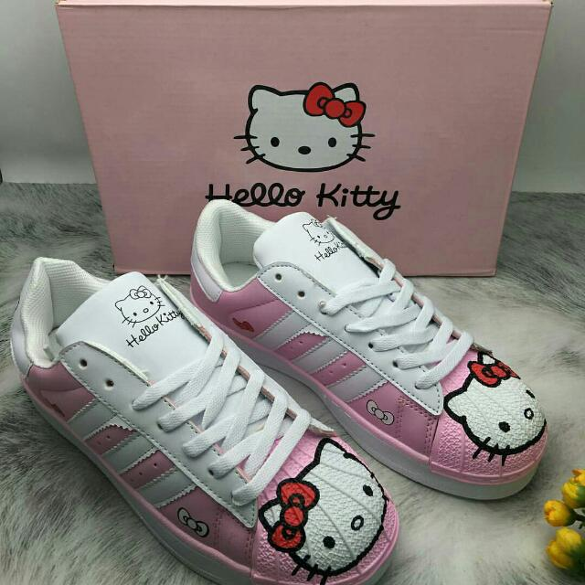 Hello Kity Pink Korean Shoes