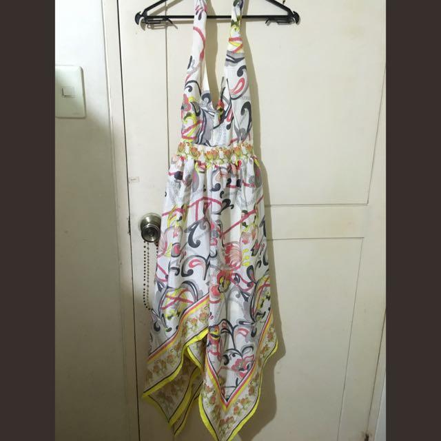 H&M Silk Beach Dress