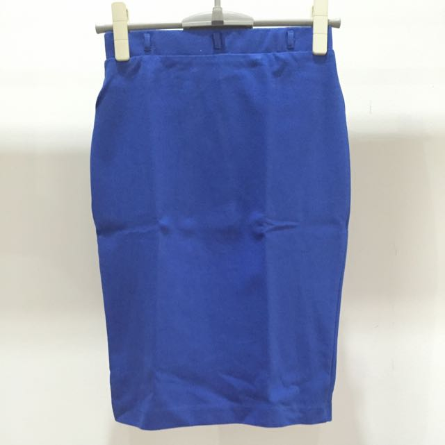 HnM 7/8 Blue Skirt