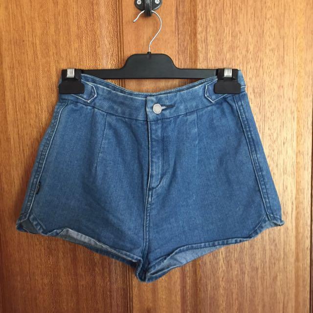 Insight Denim Shorts - Size 8