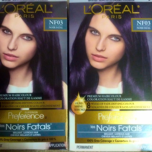 L'OREAL Preference Hair Colour - Deepest Plum