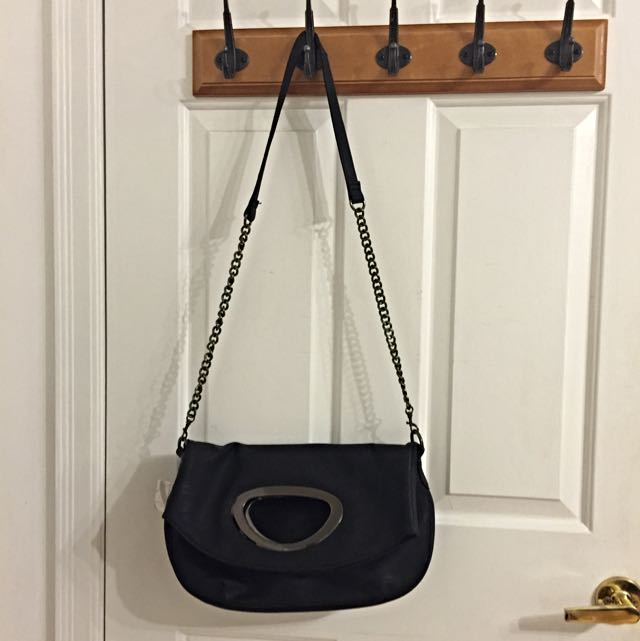 Medium Black Purse