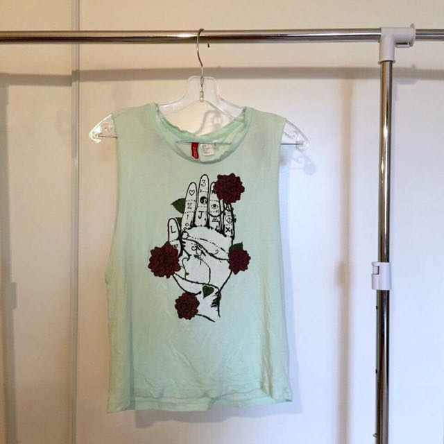 Mint H&M Muscle tank