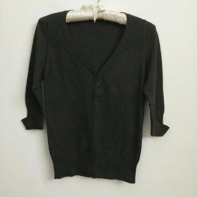 MNG CUT TAGS KNIT PULLY