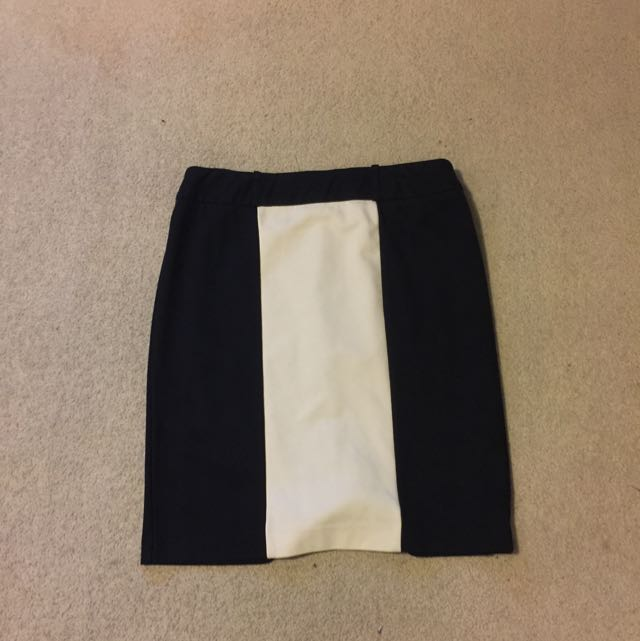 Monochrome Workwear Skirt (Target)