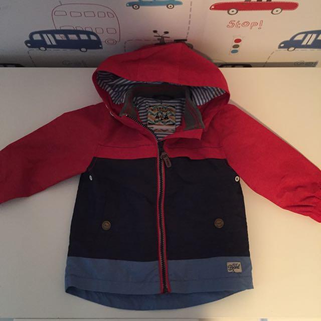 Next Boys Jacket Size 12-18 Months