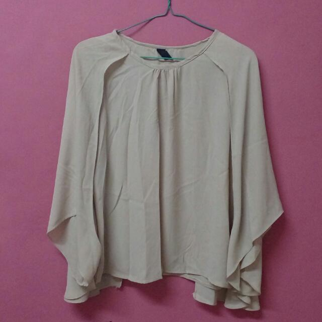 Nude Blouse