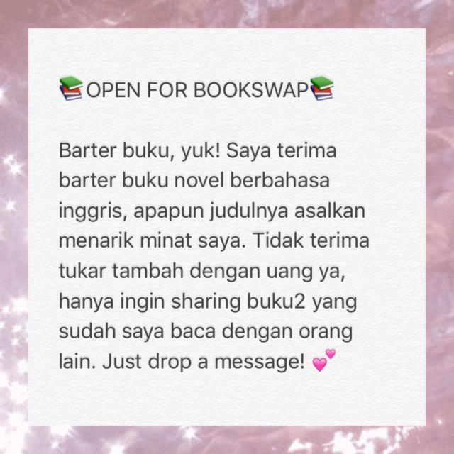 Open For Bookswap