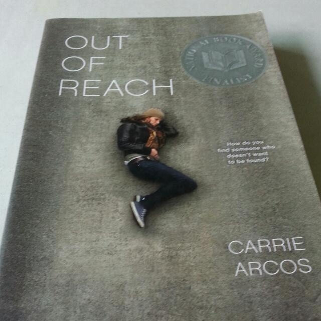 Out Of Reach By Carrie Arcos Books Stationery On Carousell