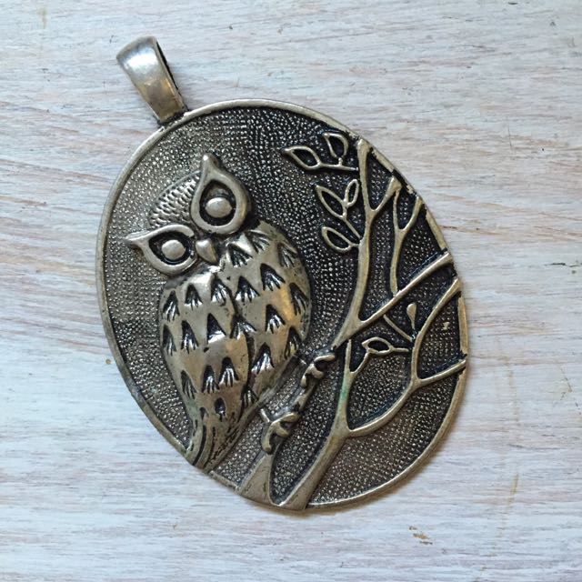 Owl Pendant Women's Jewellery Necklace