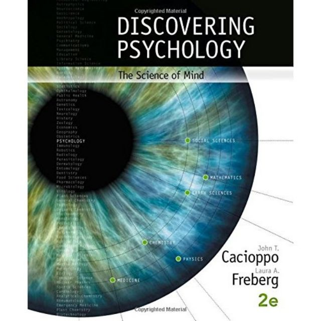 PL1101E: Discovering Psychology: The Science of Mind (2e) (Pending)