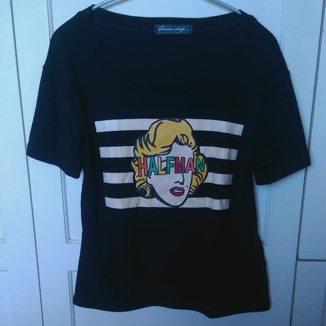 Queen shop T-shirt(F)