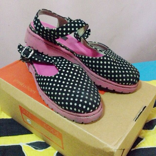 REPRICE Polka Shoes By MKS'