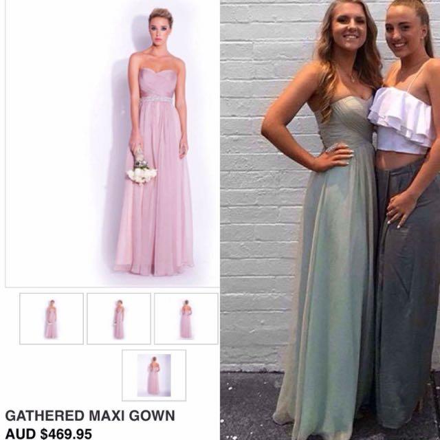 RRP $469.95 Bariano Bridesmaid/Formal Dress