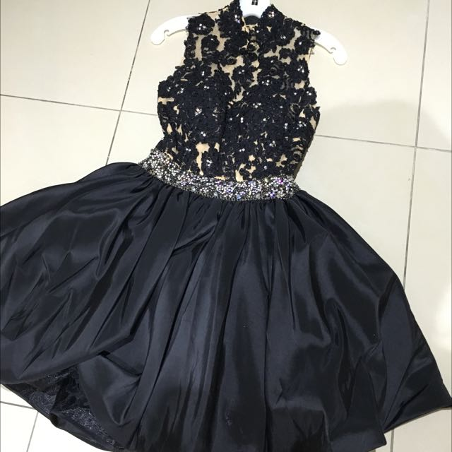 SHERRI HILL TUTU DRESS