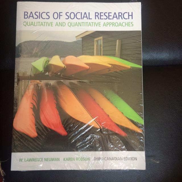 Sociology Textbook: Basics Of Social Research