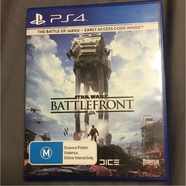 Star Wars Battle Front Ps4
