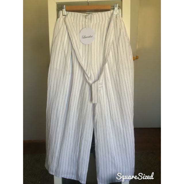Stella Striped Pants BRAND NEW