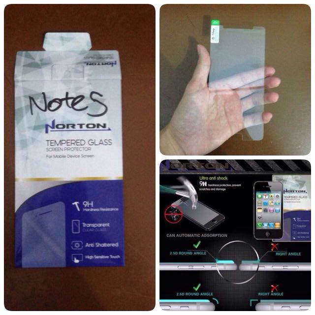 TEMPERED GLASS FOR GALAXY NOTE 5