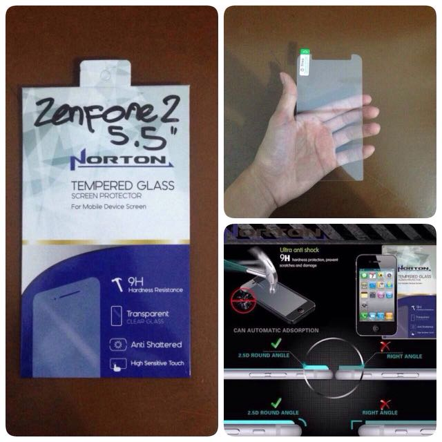 """TEMPERED GLASS NORTON FOR ASUS ZENFONE 2 5.5"""""""