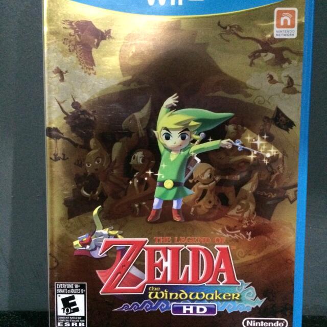 The Legend of Zelda The Windwaker (US) - WiiU