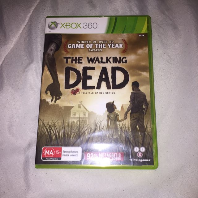 the walking dead xbox 360 games
