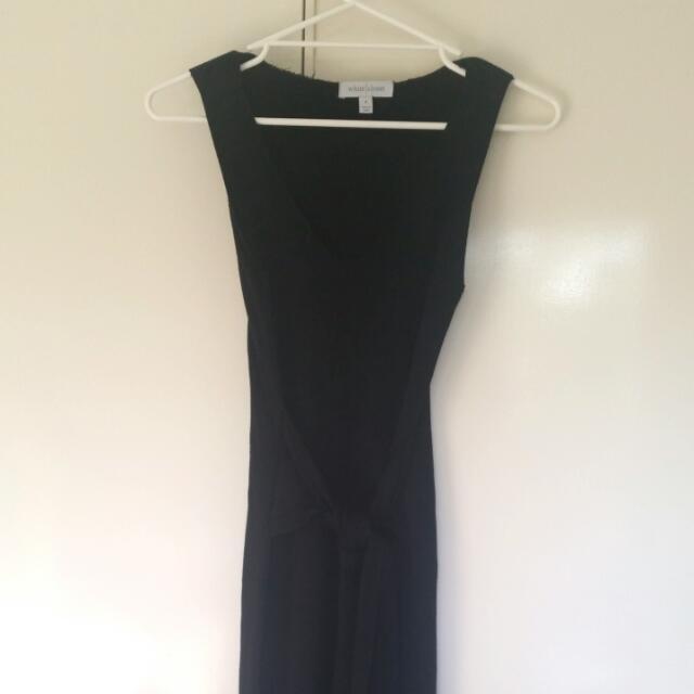 Tie Up Midi Dress
