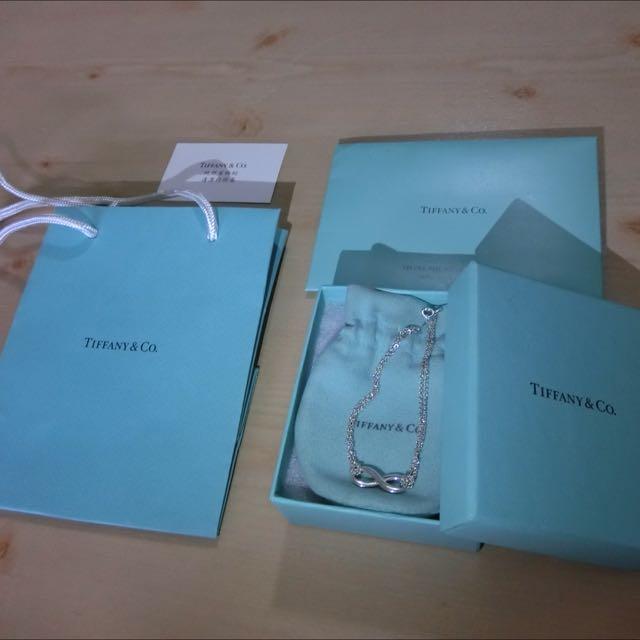 Tiffany&co無限銀手鍊