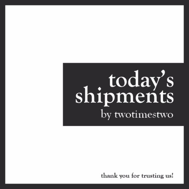 Today's Shipments 18/08/2016