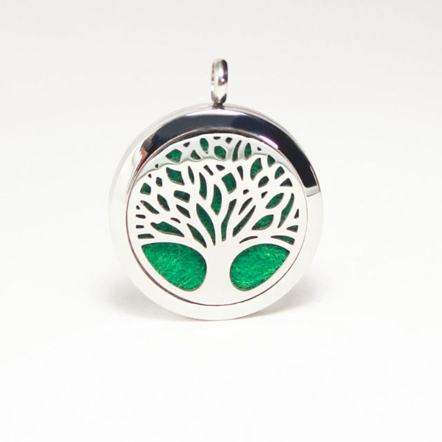 20mm Tree of Life Aromatherapy Necklace