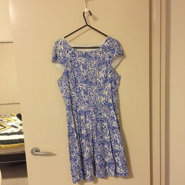 White Closet Tea Party Dress